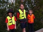 Children's Size Safety Vest - non-reflective
