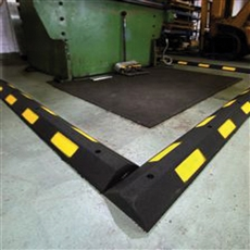 rubber spill barriers - bunding