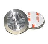 Stainless Steel Tactile Indicators Studs with peel and stick 3M adhesive sticker