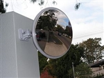 450mm Outdoor Stainless Steel Convex Mirror