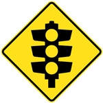Signals Ahead (Traffic Lights Ahead)