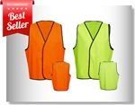 High Visibility Safety Vest - non-reflective