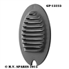 WWII LOUVRE LIGHTS MARKER LIGHT METAL LOUVRE GP-13223