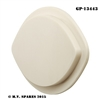 WWII LOUVRE LIGHTS TAIL LIGHT WHITE PLASTIC LENS GP-13443