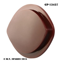 WWII LOUVRE LIGHTS TAIL LIGHT RED PLASTIC LENS GP-13457