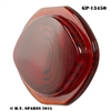 WWII LOUVRE LIGHTS TAIL LIGHT RED GLASS LENS GP-13450