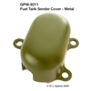 MILITARY WWII SPECIAL OFFERS COVER - FUEL TANK SENDER - METAL TYPE - F SCRIPT GPW-9211F
