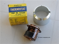 MILITARY WWII JEEP MB GPW RETAINER THERMOSTAT 639651 NOS HARRISON THERMOSTAT
