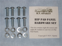 MVK-1045 HIP PAD PANEL SCREW SET