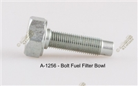 WWII JEEP PARTS, FUEL FILTER, FUEL FILTER BOWL BOLT, MB GPW WWII JEEP