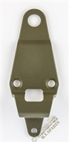 WWII JEEP PARTS, BRACKET TOP BOW REAR GPW-1153030