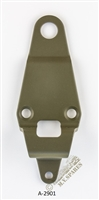 WWII JEEP PARTS, BRACKET TOP BOW REAR WILLYS MB A-2901