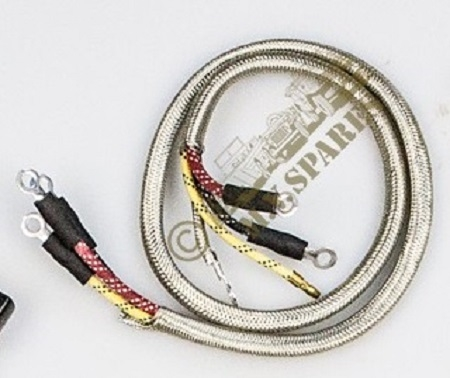 [NRIO_4796]   WWII JEEP PARTS, HEAD LAMP WIRING HARNESS, A-1665 GPW-14425 WIRE BRAIDED | Mb Jeep Wiring Harness |  | MV Spares