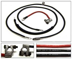 Battery Cables Heavy Duty 1970 - 1971 - Marti Auto Works