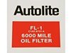 Oil Filter Autolite FL1 Decal DF684 1964 1/2 - 1972 - Osborn Reproductions