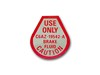 Disc Brake Master Cylinder Decal DF332 1967 - Osborn Reproductions