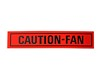 Caution Fan Decal DF31 1968 - 1979 - Osborn Reproductions