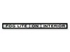 Shelby Fog & Interior Light Console Decal DF173 1969 - 1970 - Osborn Reproductions