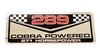 289 Cobra Powered Decal DF373 1964 1/2 - 1967 - Osborn Reproductions