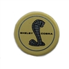 Seat Belt Decal Insert Emblem Each Shelby 1968
