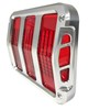 Tail Light Bezels Billet Sidewinder Pair 1964 - 1966 - Scott Drake