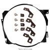 Fan Shroud Bracket Kit 2 Row 1964 1 2 - 1966