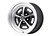 Wheel Magnum 500 5 Lug 16x8 Satin Black 1964 1/2 - 1973 - Legendary Wheel Co.