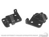 Convertible Latch Mounting Bases Pair 1964 - 1967 - Scott Drake