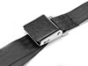 Seat Belt Black Wrinkle Style Lap Belt Black 1964 - 1973 - Scott Drake