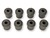 "Shackle Bushing Set of 8 9/16"" 1964 - 1965 - Scott Drake"