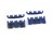 Spark Plug Wire Separator Set in Blue All Years - Scott Drake