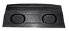 Package Tray ABS Plastic with Speaker Pods Fastback 1969 - 1970