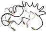 Tail Light Wiring Harness Shelby 1969 - Alloy Metal Products