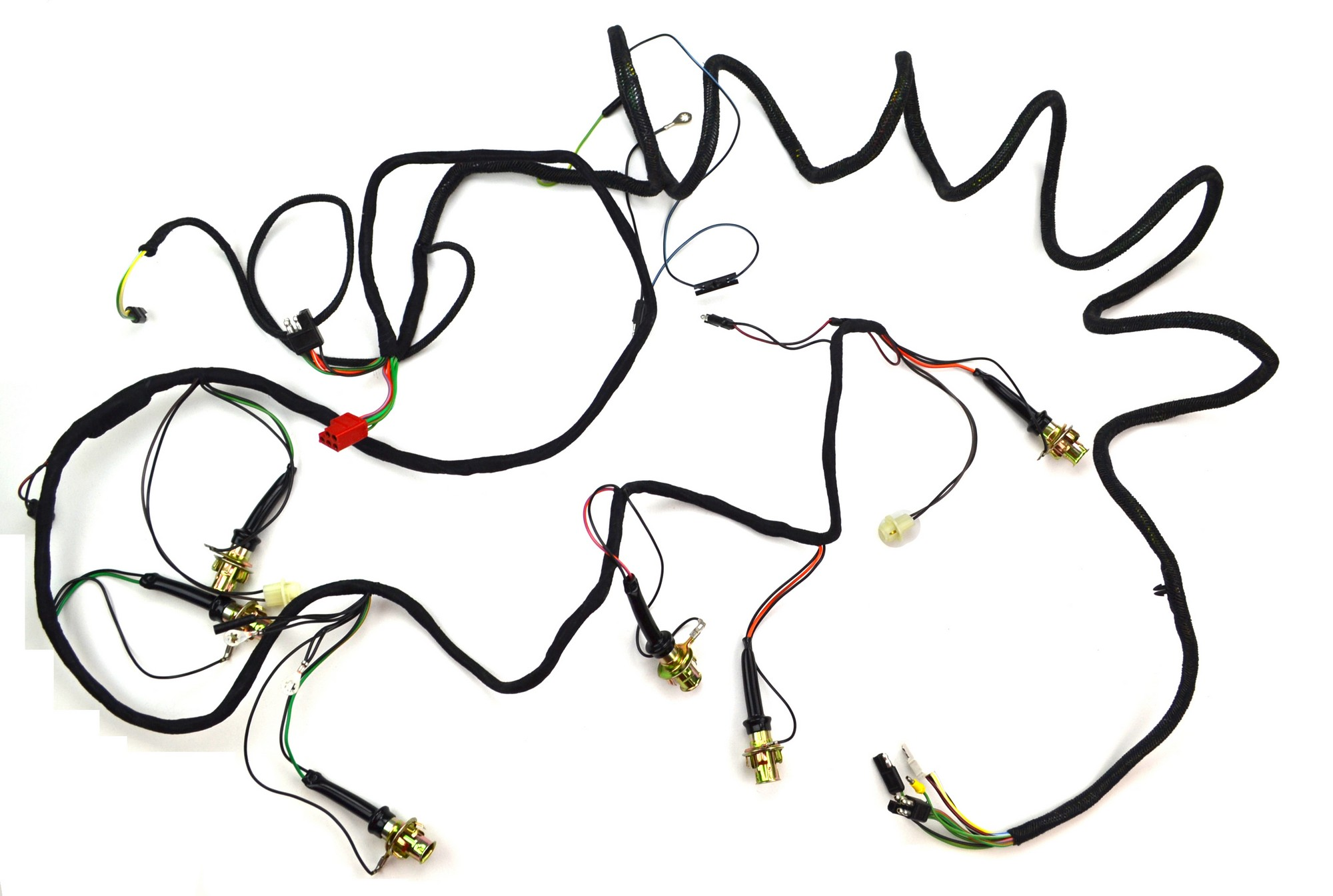 1969 mustang wiring harness tail light wiring harness shelby 1969 alloy metal products  tail light wiring harness shelby 1969