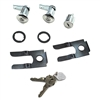 Door & Ignition Lockset W/ Standard Keys 1964 1/2 - 1966