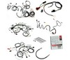Wiring Kit Six Cylinder / Gauges / 3 Speed Heater / Fastback / Socket Type Tail Lights 1965