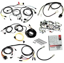 Wiring Kit Six Cylinder / 3 Speed Heater / Coupe Convertible 1966