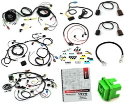 Wiring Kit 351C / with Tach / without A/C / Mach 1 / with Sport Lamps 1970