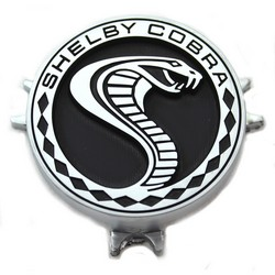 Steering Wheel Center Emblem Shelby 1969