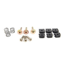 Horn Contact Plate Hardware Kit for Deluxe Woodgrain Steering Wheel 1964 1/2 - 1967 - ACP