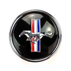 Wheel Cap Magnum 500 Mustang Tri-Bar Fits Legendary Wheel Co. Magnums 1964 1/2 - 1973