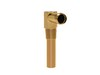 Heater Hose Fitting Small Block V8 Gold Zinc 1964 1/2 - 1973 - Scott Drake