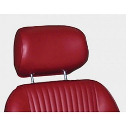 1964 - 1967 Head Rests Sport Pair - Red