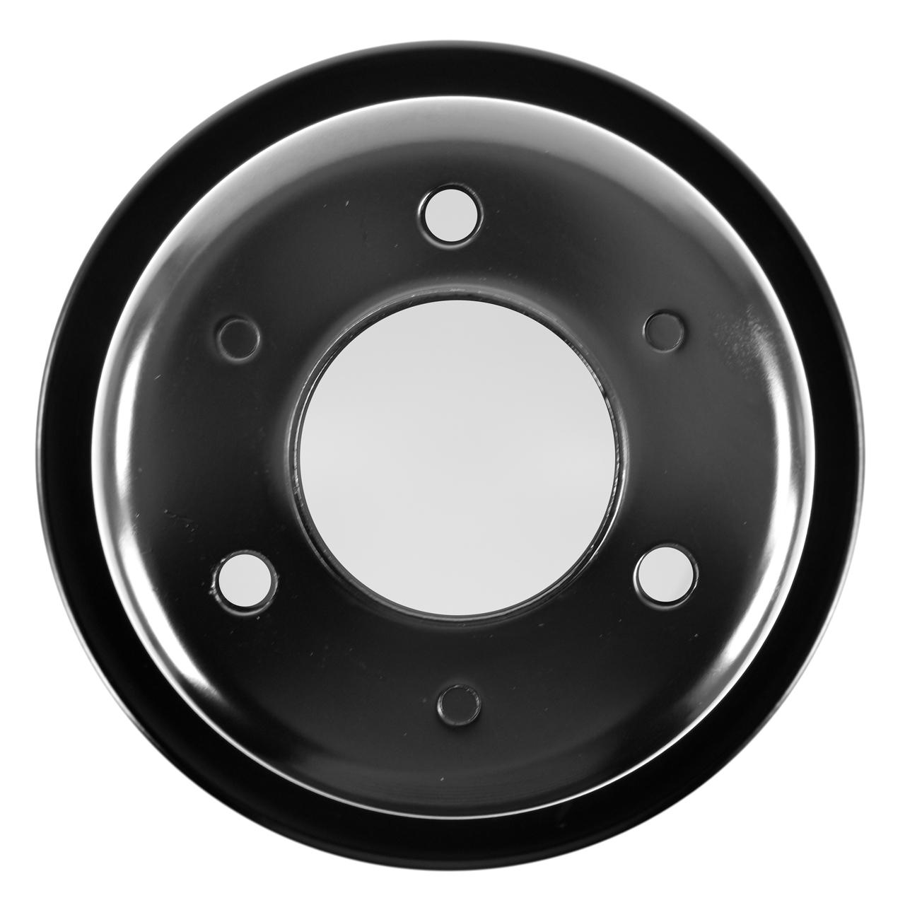 Chrome Plated Steel Crankshaft Pulley Ford 289 1965-1966 3 Bolt Holes v 8