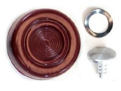 Window Handle / Crank Knob Each 1968 - 1973 Dark Red - Daniel Carpenter