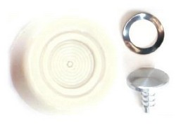 Window Handle / Crank Knob Each 1968 - 1973 White - Daniel Carpenter