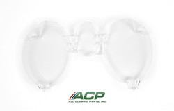 Instrument Bezel Lens without Tach 1971 - 1973 - ACP