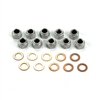 Rear End Differential Nuts & Washers 1964 1/2 - 1968 - AMK