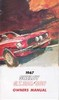 Owner's Manual Shelby 1967 - Osborn Reproductions
