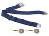 Seat Belt Lap Belt Style Each 1964 1/2 - 1973 Dark Blue - Dynacorn
